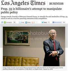 Prop 33 Billionaire Financier George Joseph