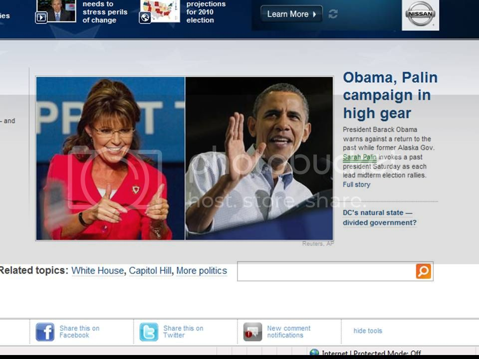 palin and obama